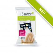 iSaver+ Desinfektions- und Reinigungstücher, 12er Spenderpackung